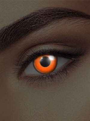 UV lēcas, oranžas