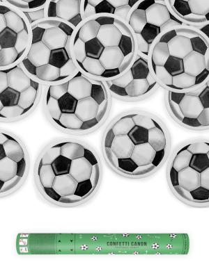 Plaukšķene futbola bumbas, melna-balta, 40 cm