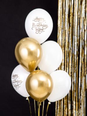 "6 gab, Balonu komplekts ""Happy Birthday To You"" 30 cm"
