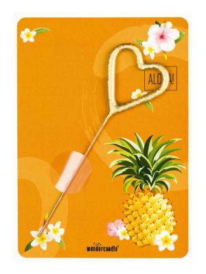 """Mini kartina, """"Aloha"""", 11,5 cm x 8,5 cm"""