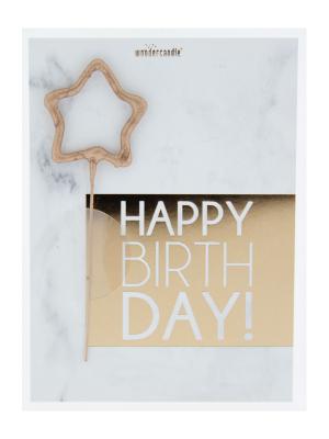 """Mini kartiņa, """"Happy Birthday"""", 11,5 cm x 8,5 cm"""