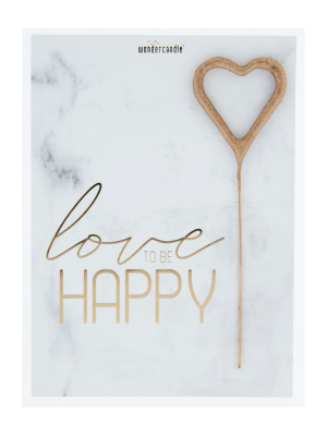 "Mini kartiņa, ""Love To Be Happy"", 11,5 cm x 8,5 cm"