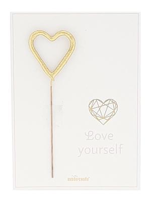 "Mini kartiņa ""Love Yourself "", 11,5 cm x 8,5 cm"