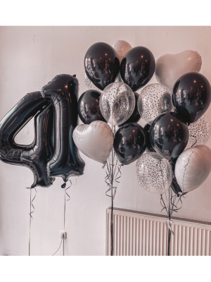 Hēlija balonu pušķi +2 cipari