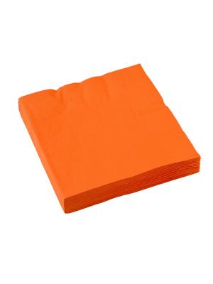 20 gab, Salvetes, oranžs, 33 x 33 cm