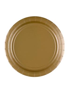 8 gab, papīra šķīvis, zelts, diametrs 22,8 cm