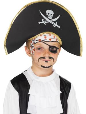Pirātu cepure, pelēka
