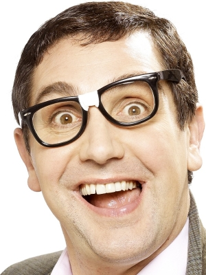 Brilles, ar plāksteri