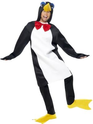 Pingvīna kostīms ar kapuci (sieviešu / vīriešu)