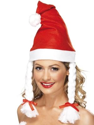 Ziemassvētku cepure ar bizītēm