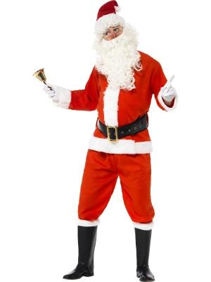 Ziemassvētku vecīša kostīms, filca, (vidēja kvalitāte)