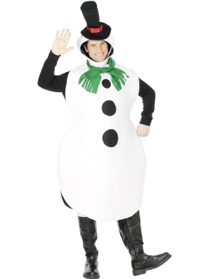 Sniegavīra kostīms