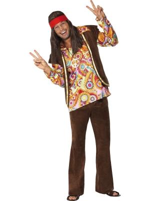 60-to gadu stila hippija kostīms