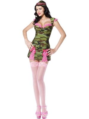 Pin Up  Armijas meitenes kostīms