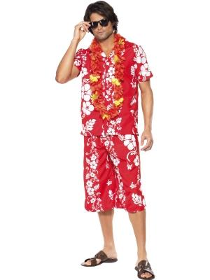 Havaju stila kostīms