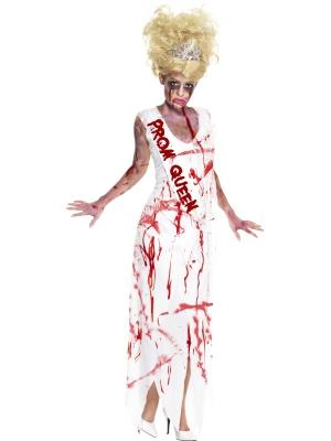 Zombiju izlaiduma karalienes kostīms
