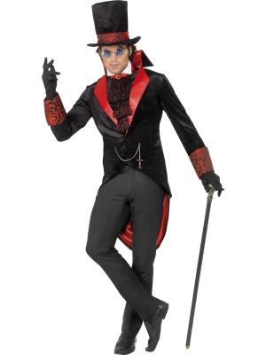Drakulas kostīms ar cepuri