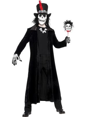Voodoo burvja kostīms ar masku