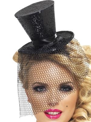Mini burleska cepurīte